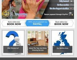 #9 for Design 3 Banners, 940 x 480, for the website of a cleaning company landing page by stniavla