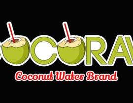 "BadrTn tarafından Design a Logo for a coconut water company called ""Coco Raw"" için no 40"
