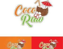 """OliveraPopov1 tarafından Design a Logo for a coconut water company called """"Coco Raw"""" için no 36"""