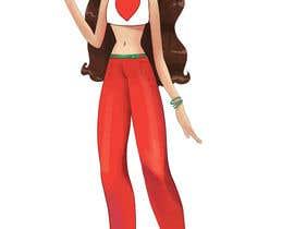 Nro 14 kilpailuun Illustrate a girl x3 käyttäjältä RayGg