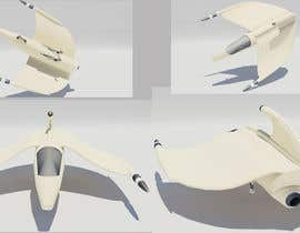 #2 para Do some 3D Modelling for Video Game - Space Fighter por Bjohen
