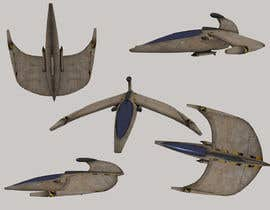 #4 untuk Do some 3D Modelling for Video Game - Space Fighter oleh Xalmas