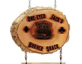 LukeVyner tarafından Design a Logo for One-Eyed Jack's Burger Shack için no 5