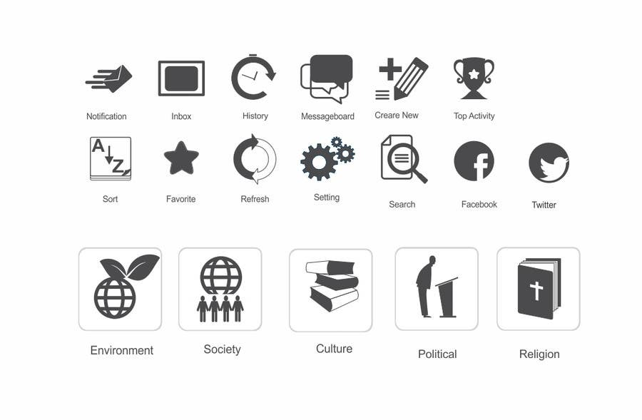 #8 for Design some Icons for my website! by mgliviu
