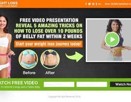 Nro 16 kilpailuun Weight Loss squeeze page/landing page käyttäjältä smartyogeeraj