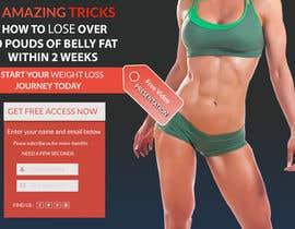 Nro 36 kilpailuun Weight Loss squeeze page/landing page käyttäjältä DesignBoss