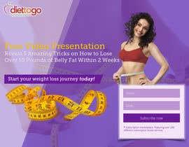 Nro 22 kilpailuun Weight Loss squeeze page/landing page käyttäjältä smartitservices