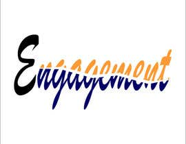 """Nro 46 kilpailuun Logo for - Alex Bonett - Speaker Author Mentor -(My Big Word is) """"Engagement"""" käyttäjältä ismail02012016"""