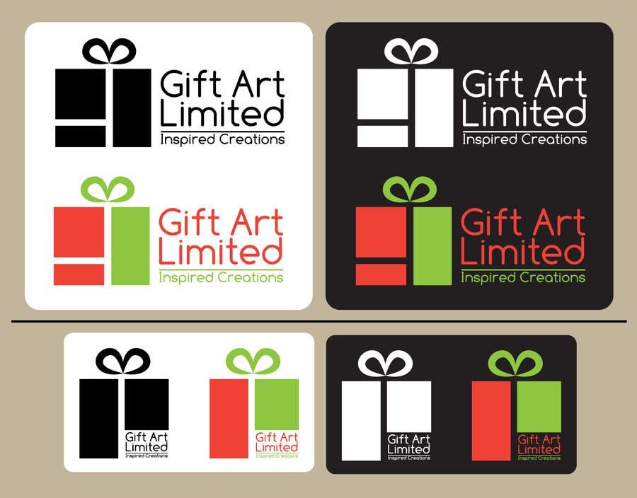 Design a Logo for Gift Art Limited için 19 numaralı Yarışma Girdisi