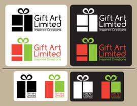 nº 19 pour Design a Logo for Gift Art Limited par zitabanyai