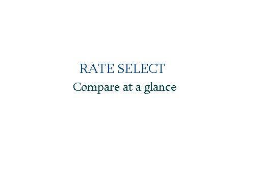 Bài tham dự cuộc thi #133 cho Rate Select slogan