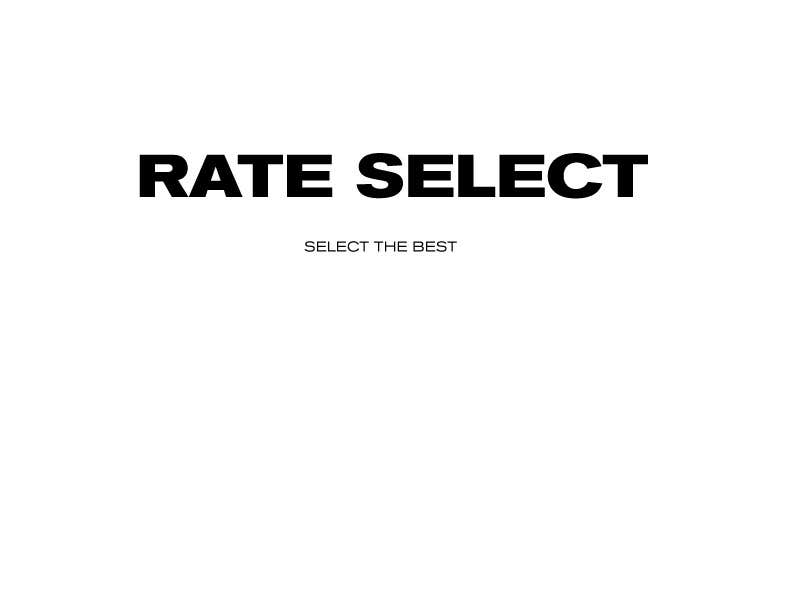 Contest Entry #66 for Rate Select slogan