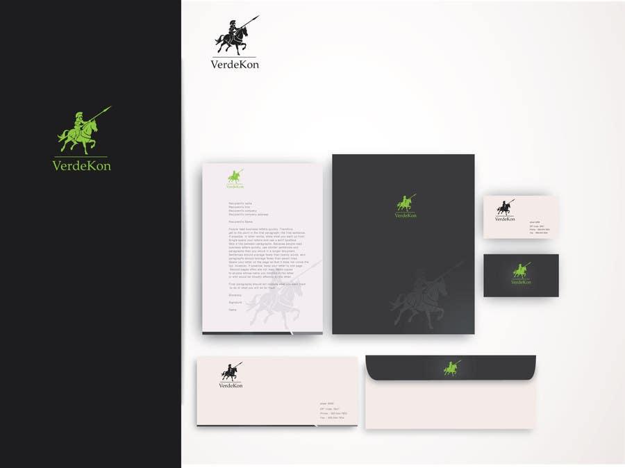Kilpailutyö #168 kilpailussa Design a Logo and corporate design for VerdeKon