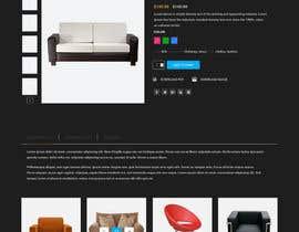 Nro 70 kilpailuun Design a single product page mockup for furniture ecommerce käyttäjältä myumifte