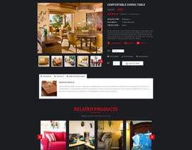 Nro 62 kilpailuun Design a single product page mockup for furniture ecommerce käyttäjältä Makkina