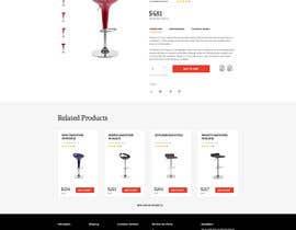 Nro 22 kilpailuun Design a single product page mockup for furniture ecommerce käyttäjältä ktivepixel