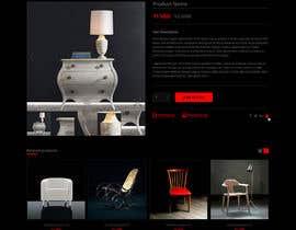 Nro 69 kilpailuun Design a single product page mockup for furniture ecommerce käyttäjältä abhijitgh632