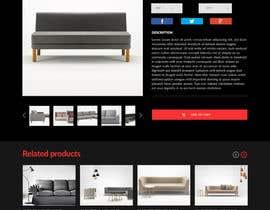 Nro 50 kilpailuun Design a single product page mockup for furniture ecommerce käyttäjältä ducdungbui