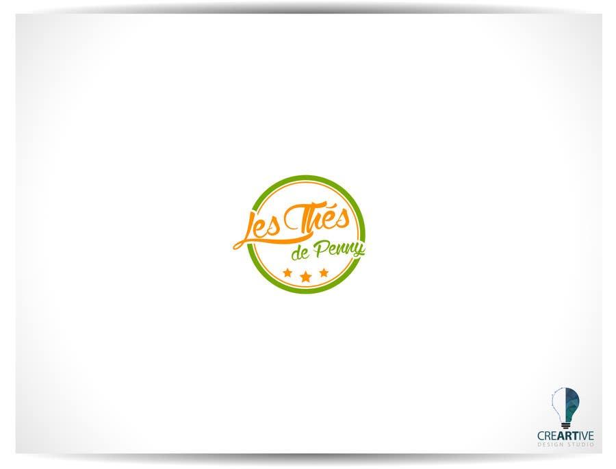 Penyertaan Peraduan #                                        56                                      untuk                                         Logo for a young girl home grown herbal tea compagny (les Thés de Penny)