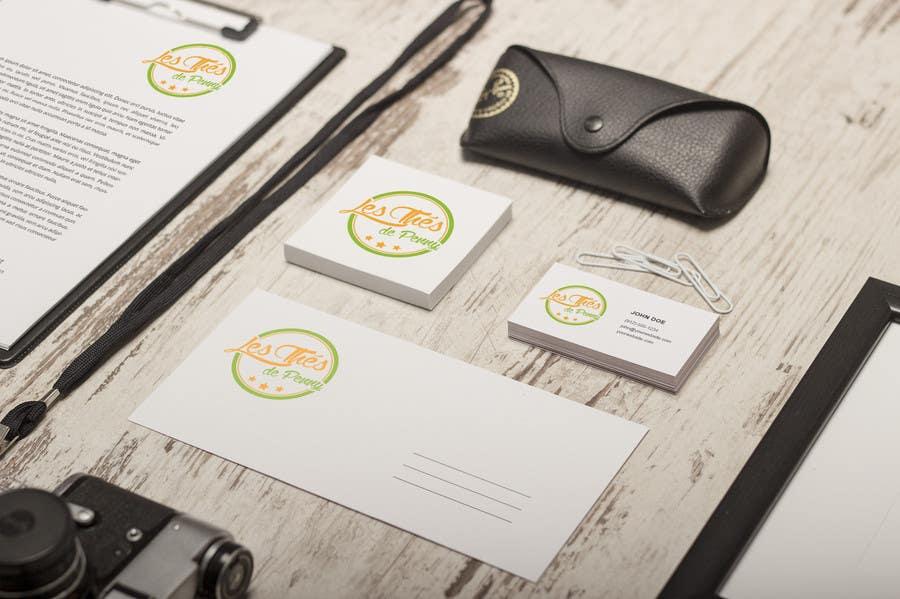 Penyertaan Peraduan #                                        57                                      untuk                                         Logo for a young girl home grown herbal tea compagny (les Thés de Penny)