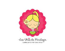 #69 for Logo for a young girl home grown herbal tea compagny (les Thés de Penny) by ghcc1932