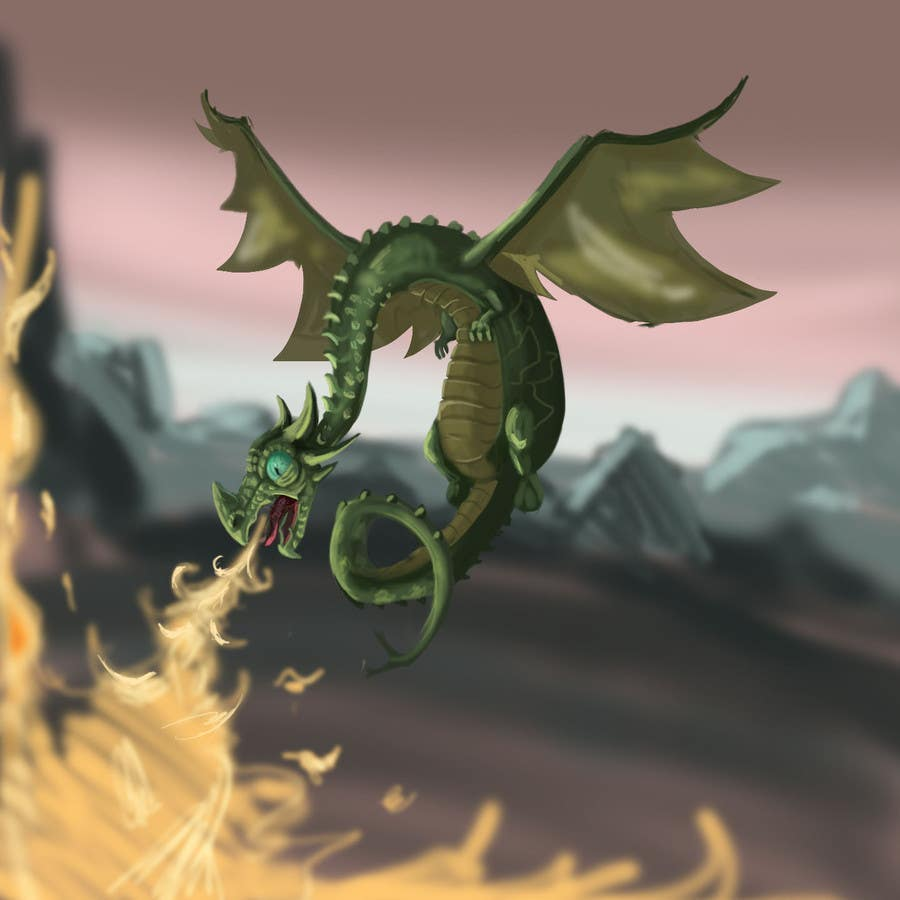 #15 for Awesome Dragon Illustration by eduardobravo