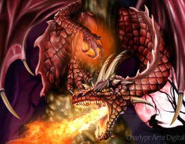 #36 para Awesome Dragon Illustration por Charlypr