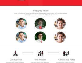 #20 para Graphics Design for Home Page of TCHER Agency Website por JosephNgo