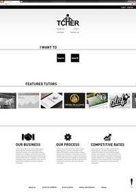 #28 for Graphics Design for Home Page of TCHER Agency Website by darioviegas