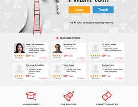 #35 para Graphics Design for Home Page of TCHER Agency Website por JeremyThornton8