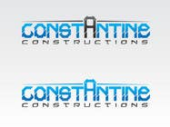 Graphic Design Kilpailutyö #252 kilpailuun Logo Design for Constantine Constructions