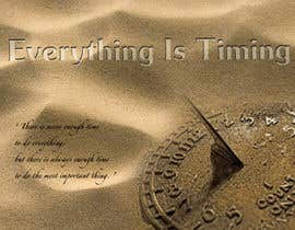 #6 para Splash Page for Everything is Timing por anaung