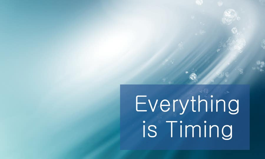 #13 for Splash Page for Everything is Timing by grapaa