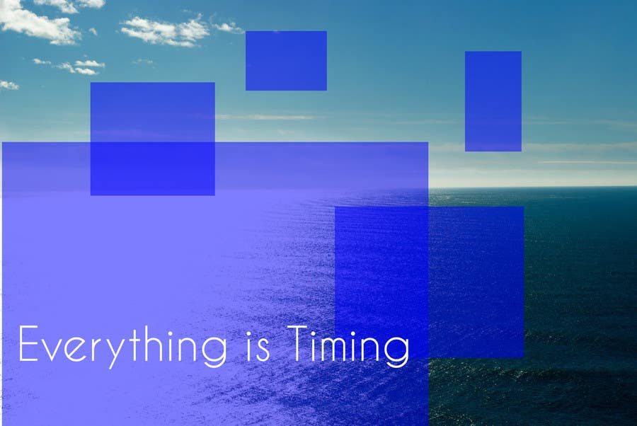 #15 for Splash Page for Everything is Timing by grapaa
