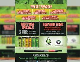 bajirahaman786 tarafından Design a Cannabis Flyer için no 16