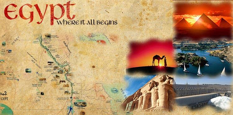 Inscrição nº 5 do Concurso para Egypt Banner