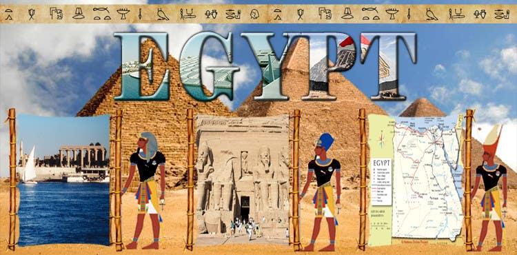 Inscrição nº 13 do Concurso para Egypt Banner