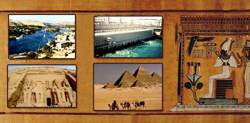 #8 for Egypt Banner by lasitha119