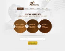 #36 para Design a Website Mockup for AttorneyAuction.com por tania06