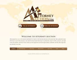 #26 para Design a Website Mockup for AttorneyAuction.com por atularora