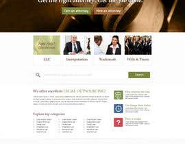 #28 para Design a Website Mockup for AttorneyAuction.com por alpyraj81