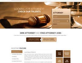 #33 para Design a Website Mockup for AttorneyAuction.com por zumanur