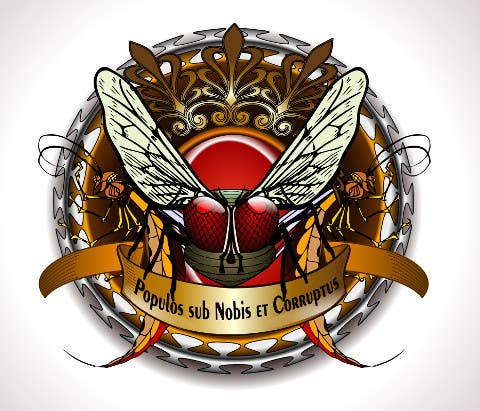 "#49 for Design a Logo for the Graphic Novel ""The Empire of the Flies"" by renatomeneses"