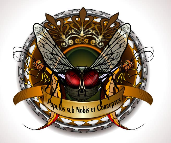 "#53 for Design a Logo for the Graphic Novel ""The Empire of the Flies"" by renatomeneses"