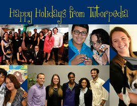 linokvarghese tarafından Design a Flyer for Tutorpedia's holiday postcard! için no 44
