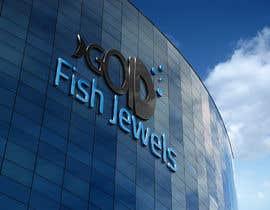 Nro 45 kilpailuun goldfishjewels logo käyttäjältä manuel0827