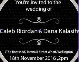 hananeyoutlane tarafından **EASY BRIEF** Wedding Invitation için no 6