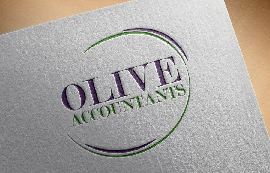 Penyertaan Peraduan #                                        51                                      untuk                                         logo design for Olive Accountants