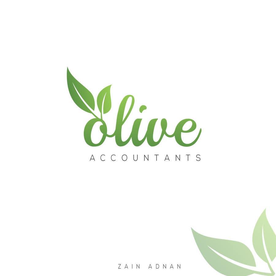Penyertaan Peraduan #                                        50                                      untuk                                         logo design for Olive Accountants
