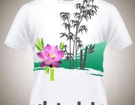 Nro 13 kilpailuun Bamboo design for tee shirt käyttäjältä parrajg17